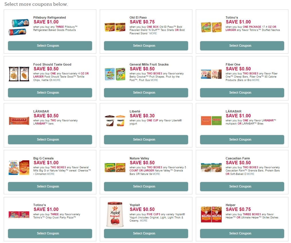 Find grocery coupons