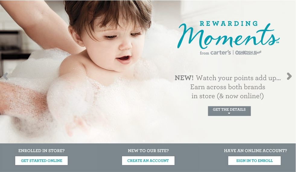 Sign Up for the Carter's Rewards Program