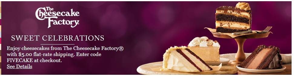 Cheesecake factory discount coupons 2018