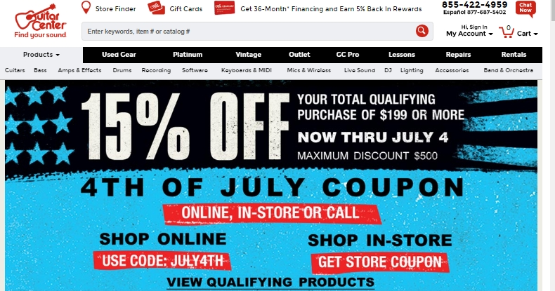 guitar center coupon code 20 off best 3d ds deals. Black Bedroom Furniture Sets. Home Design Ideas