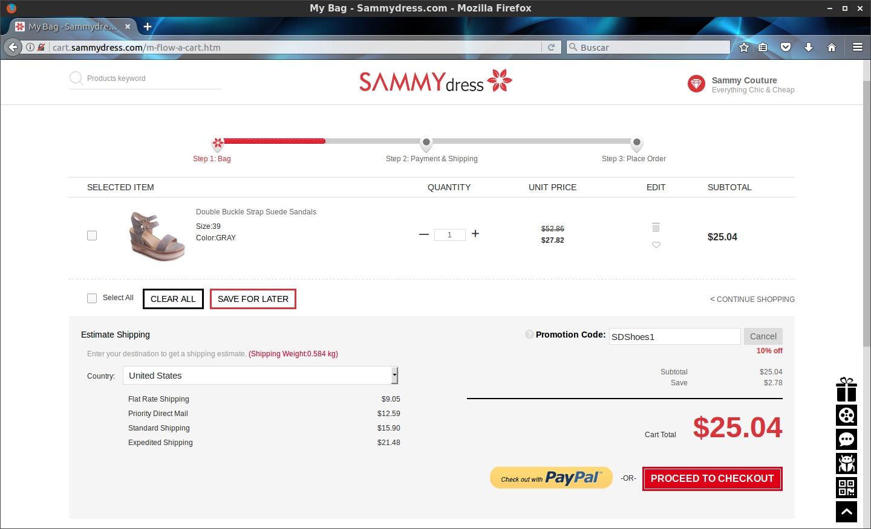 Sammydress coupon code