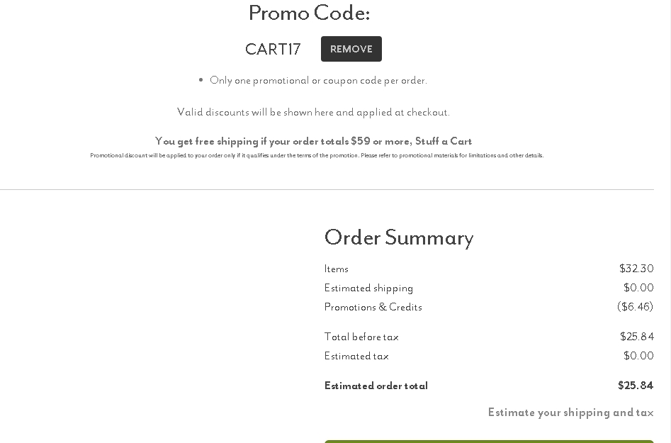 Sur la table coupon code