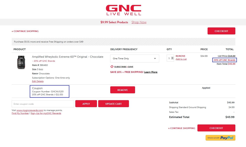 Gnc coupon code 2018