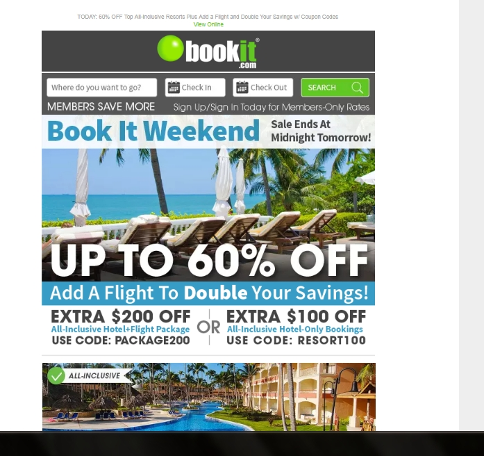 Bookit Coupons All Active Bookit Coupon Codes & Coupons - Up To $ off in December If you are on the hunt for a vacation deal of a lifetime, the Bookit online store is just the place for you.