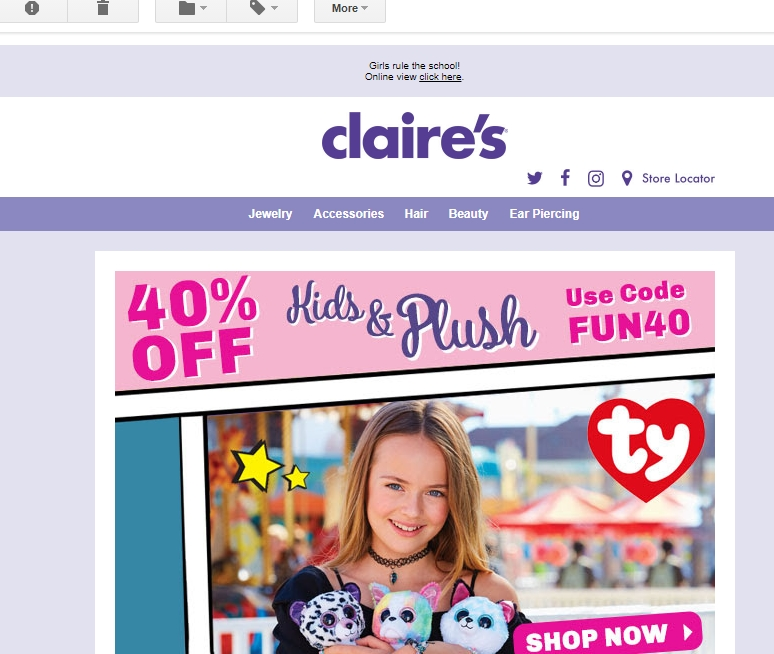 Claire's Coupons & Deals Treat yourself to huge savings with Claire's Promo Codes: 22 promo codes, and 22 deals for December