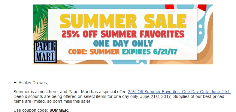 Papermart coupon code