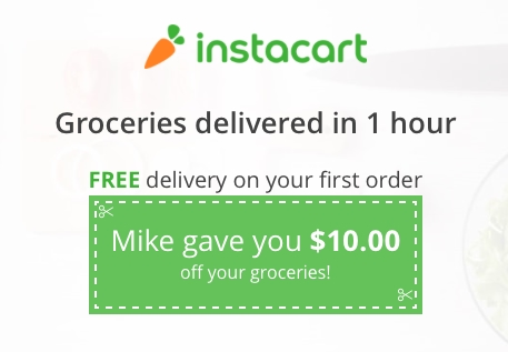 Free grocery coupons delivered to your home