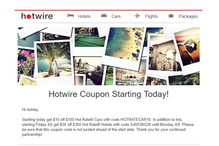 60% Off Hotwire Coupon Code | Hotwire 2018 Promo Codes ...
