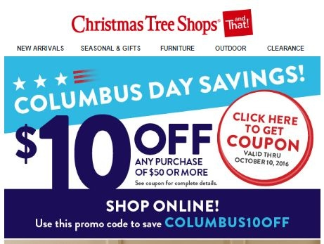 Hi Everyone Many Of You Know That I Work At Christmas Tree ShopWe Have 14 Active Shops Coupons Promo Codes And Discount
