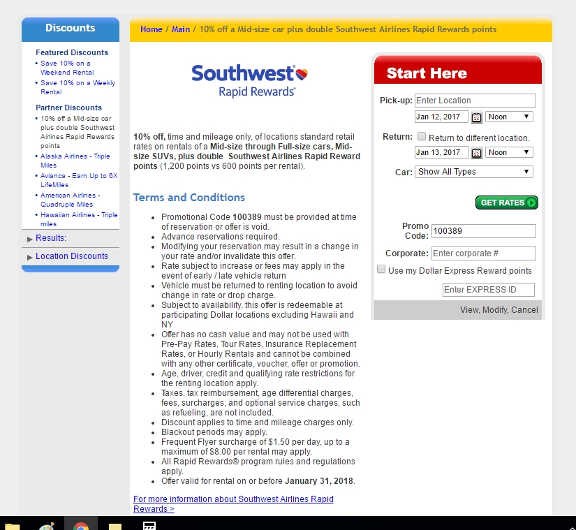 Coupon code for southwest airlines 2018
