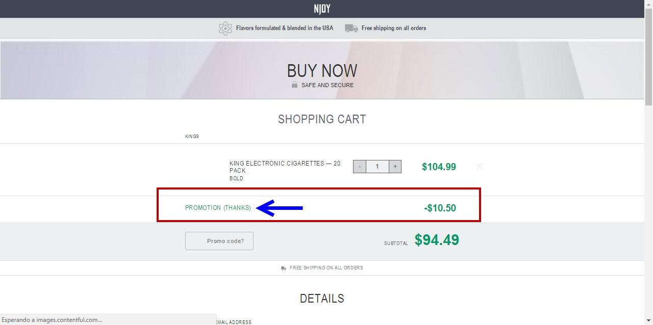 Njoy coupon code 2018
