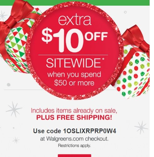 Drugstore coupon 10 off 40