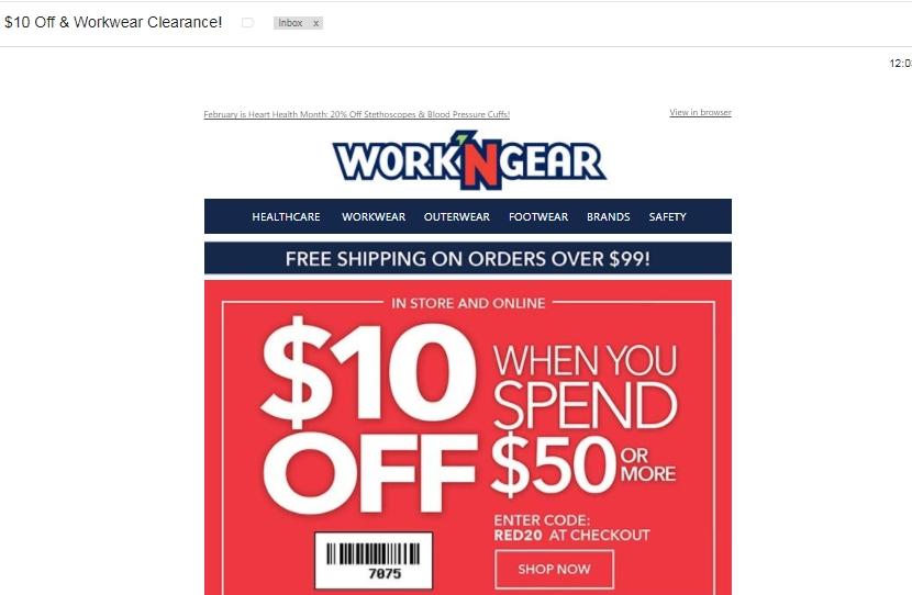 Work n gear printable coupons 2018