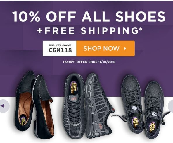 Coupons for shoes for crews free shipping