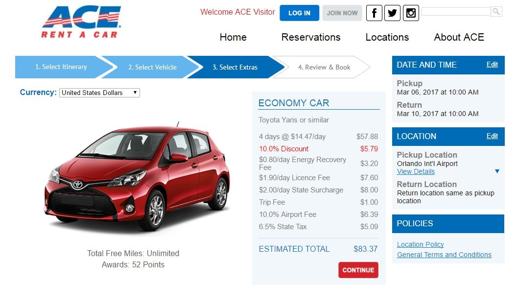 Ez Rent A Car Orlando Airport Phone Number