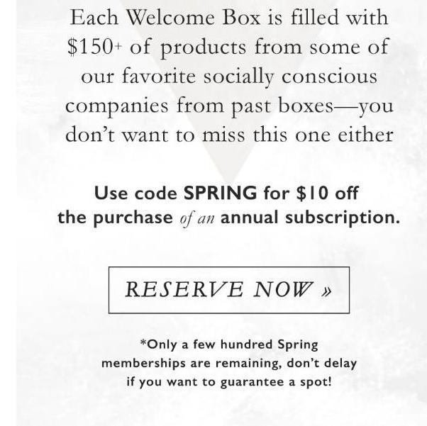 Causebox coupon code