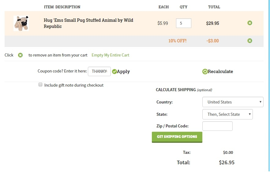 Offers Related To Stuffed Safari Coupon