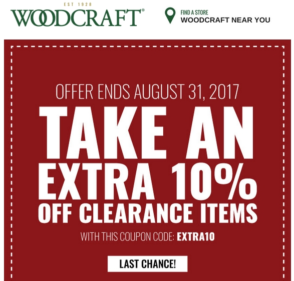 Nov 13,  · Woodcrafter Coupon Codes. 52 Woodcrafter coupons, including 4 Woodcrafter coupon codes & 48 deals for December Make use of Woodcrafter promo codes & sales in to get extra savings on top of the great offers already on internetmovie.ml go to internetmovie.ml