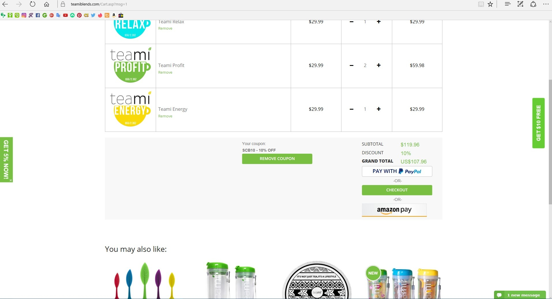 Teami blends coupon code
