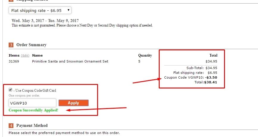 Factory direct craft coupon code