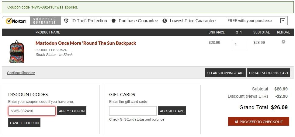 Rockabilia coupon code