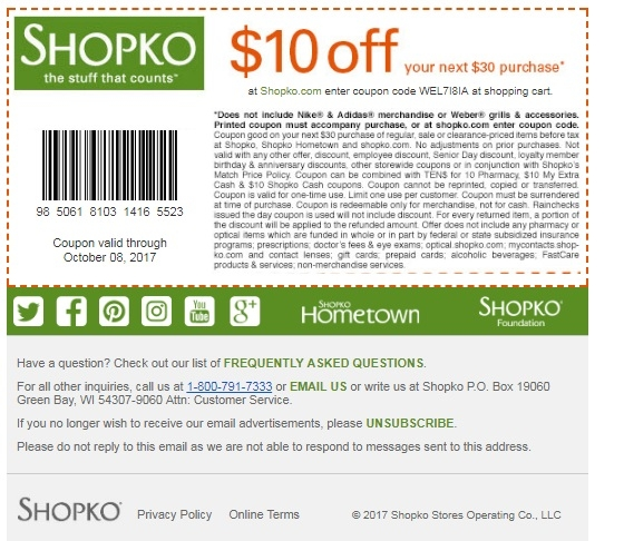 graphic about Shopko Printable Coupons named Shopko coupon code cost-free delivery / Freecharge coupon code