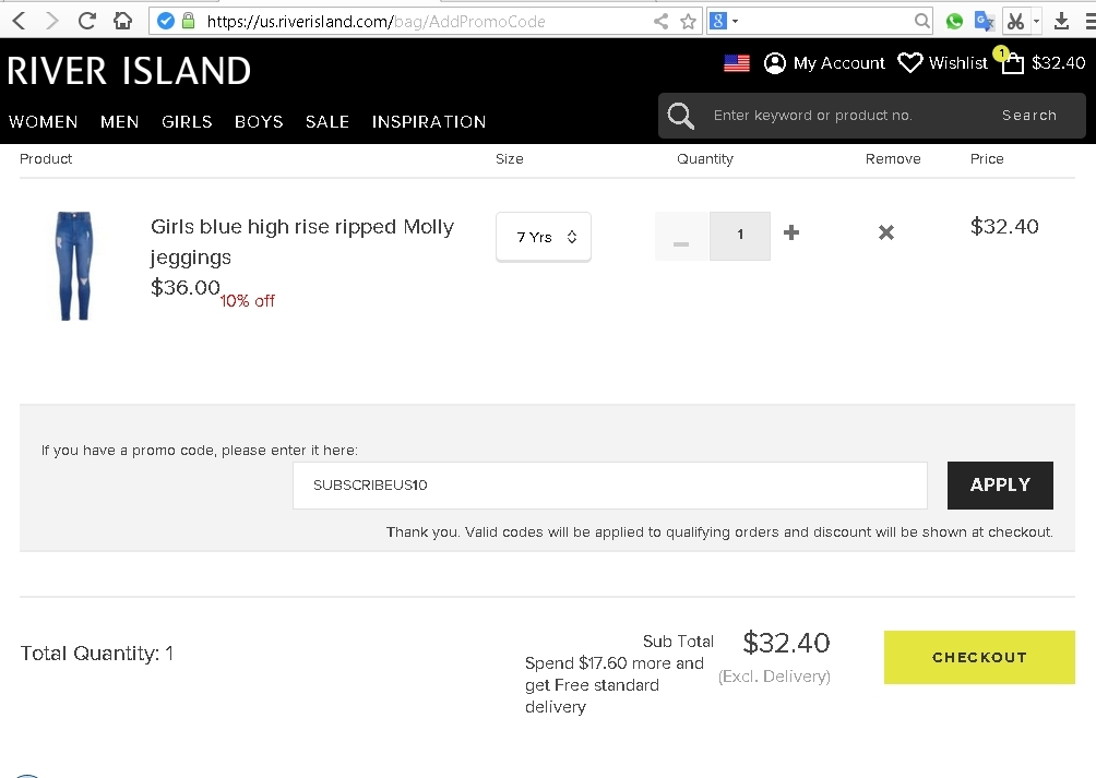River Island Money Off Codes