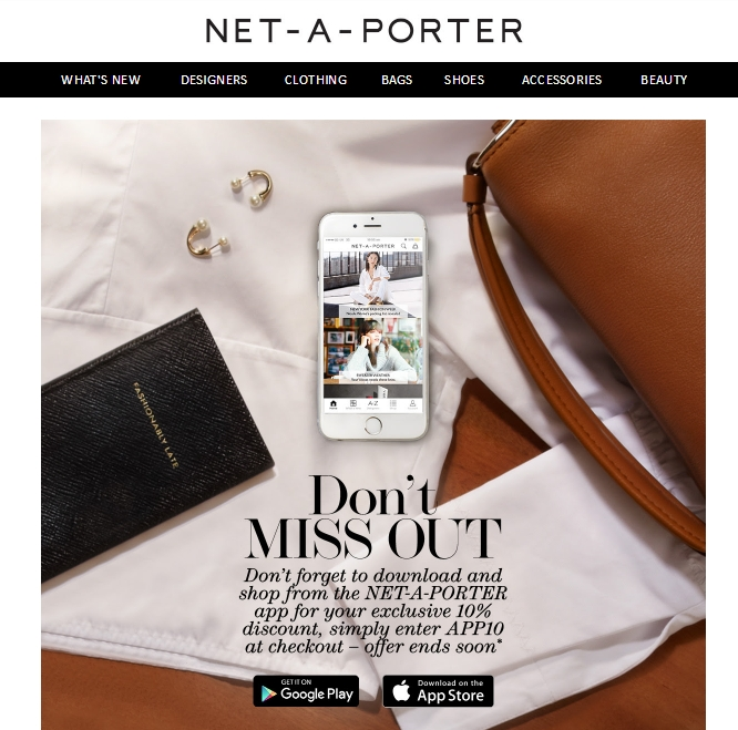 To return an item, request a Returns Merchandise Authorization and ship the item back within 28 days of receipt. Sign up for the Net-A-Porter email list to receive news, discounts, and coupon codes.5/5(4).