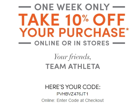 How to Use Athleta Coupons: Enter the Athleta promo code found on obmenvisitami.tk in the