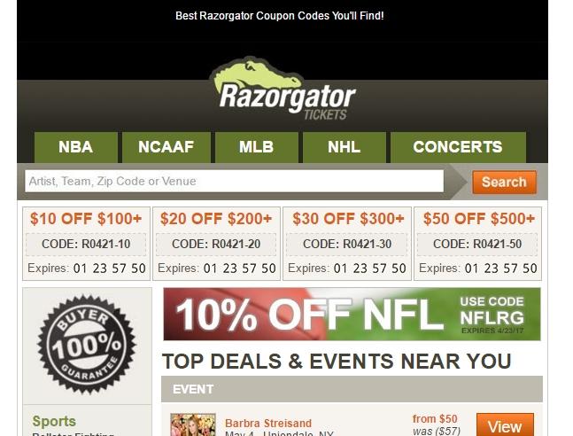 Razorgator coupon code