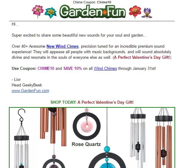 All of garden coupons