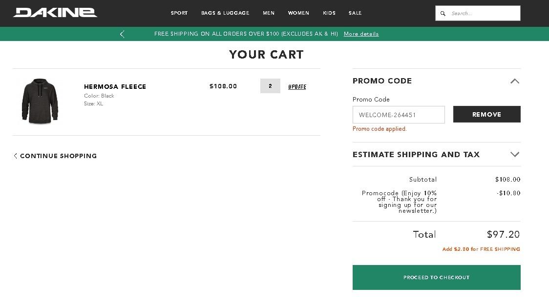 Dakine coupon code