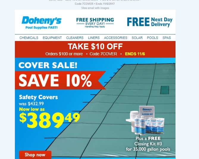 Doheny's coupon code