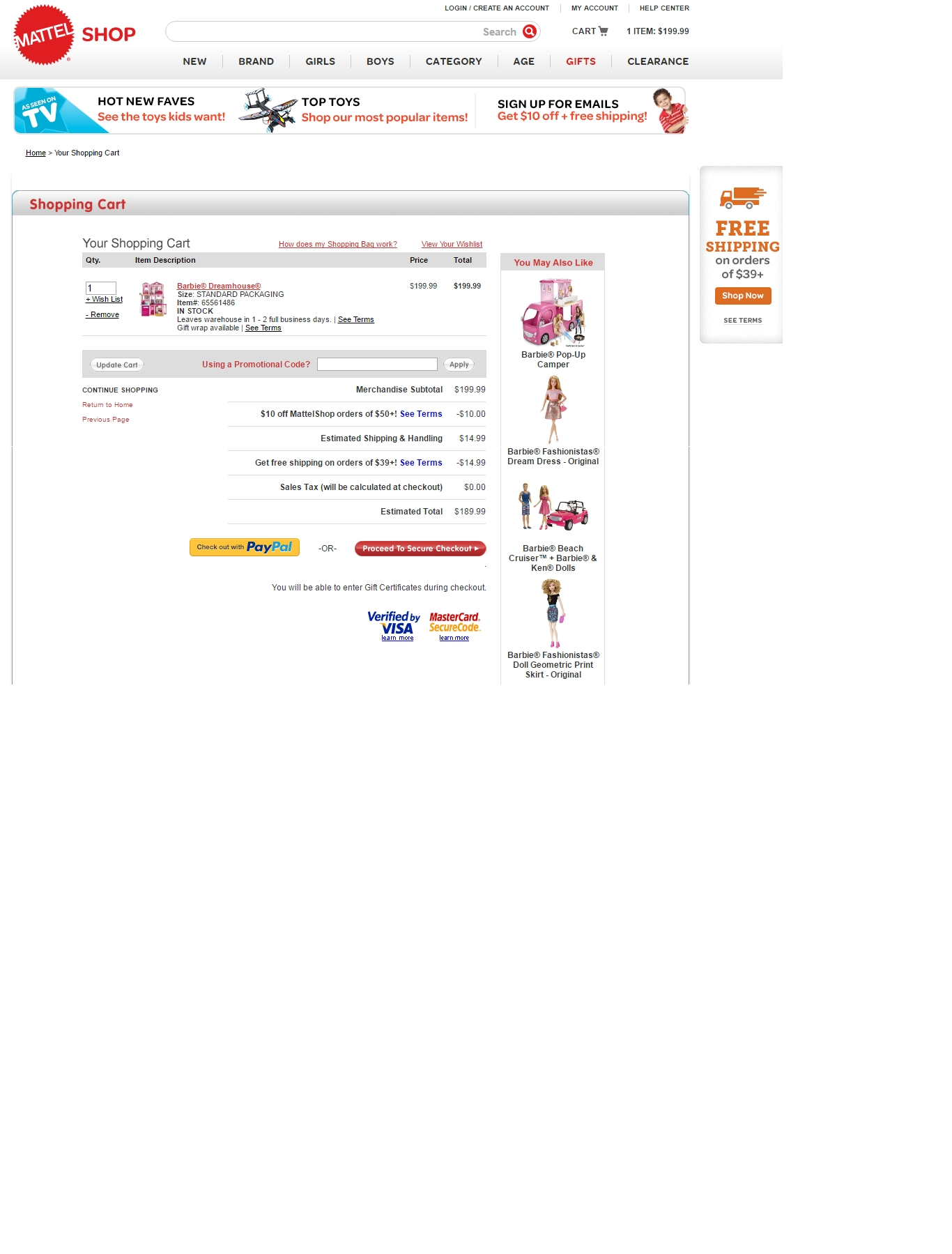 Mattel outlet coupons