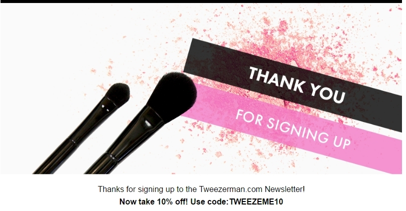 For Tweezerman we currently have 11 coupons and 0 deals. Our users can save with our coupons on average about $ Todays best offer is Free Curl N Go Eyelash Curler Sitewide.