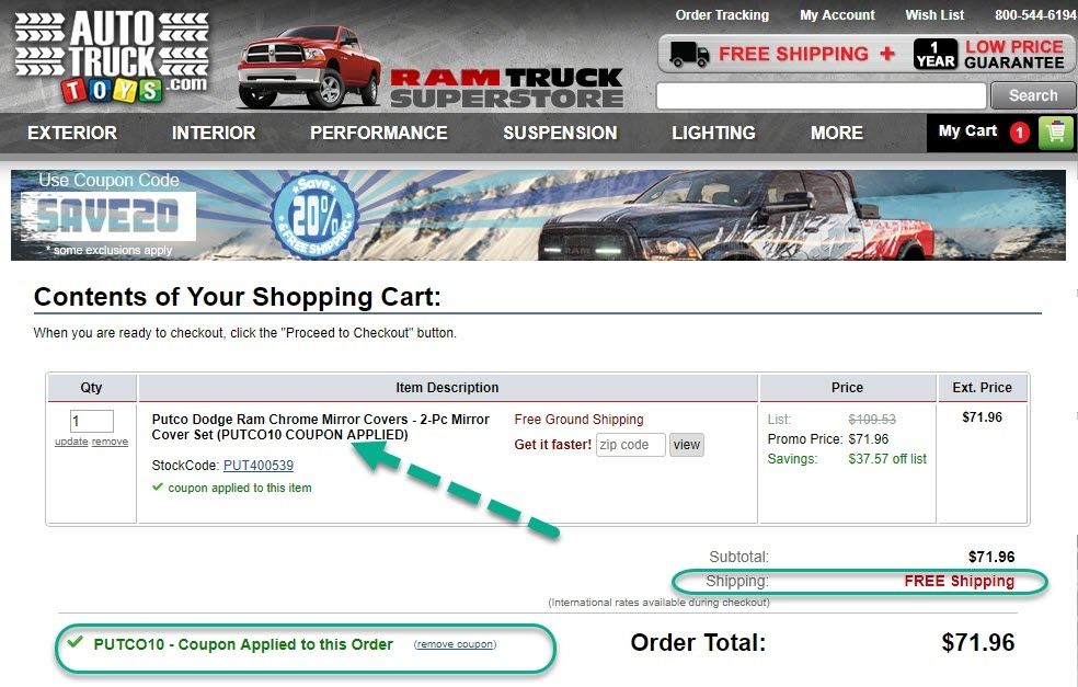 Twenty trucks coupon code