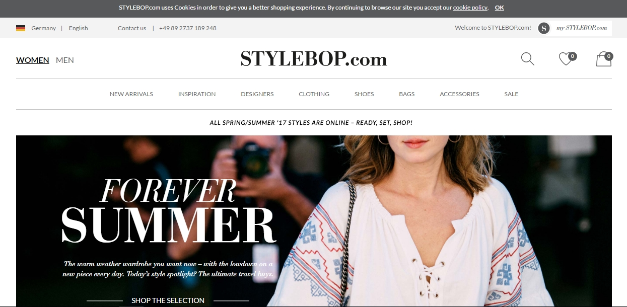 Stylebop Promo Codes. vegamepc.tk is Germany's leading luxury fashion-and trend site for women's and men's wear and offer designer fashion from Burberry, Roberto Cavalli, Etro, Fendi, Valentino and Marc Jacobs to Seven for all Mankind and Closed. Stopping by the vegamepc.tk will be an amazing experience.