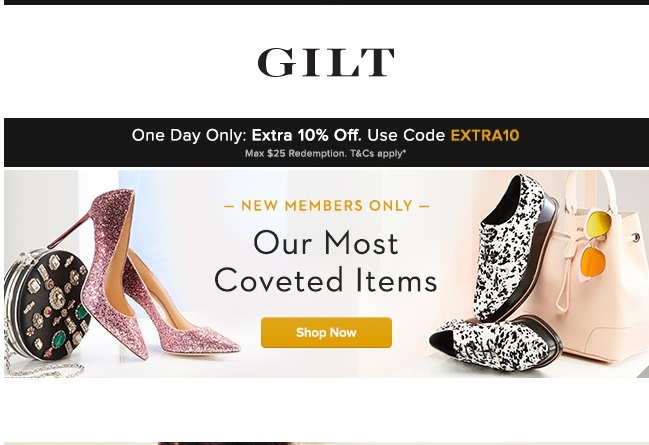 Gilt coupon codes