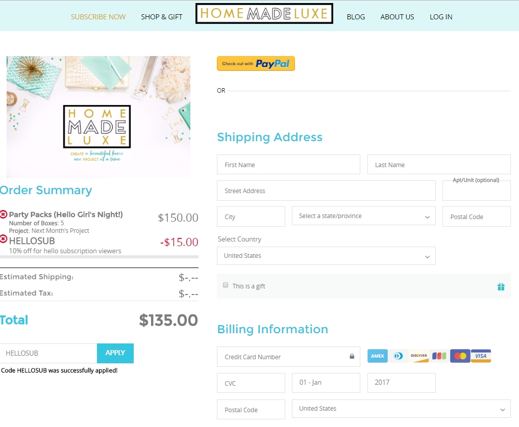 10 off home made luxe coupon code 2017 promo code dealspotr - Code promo made com ...