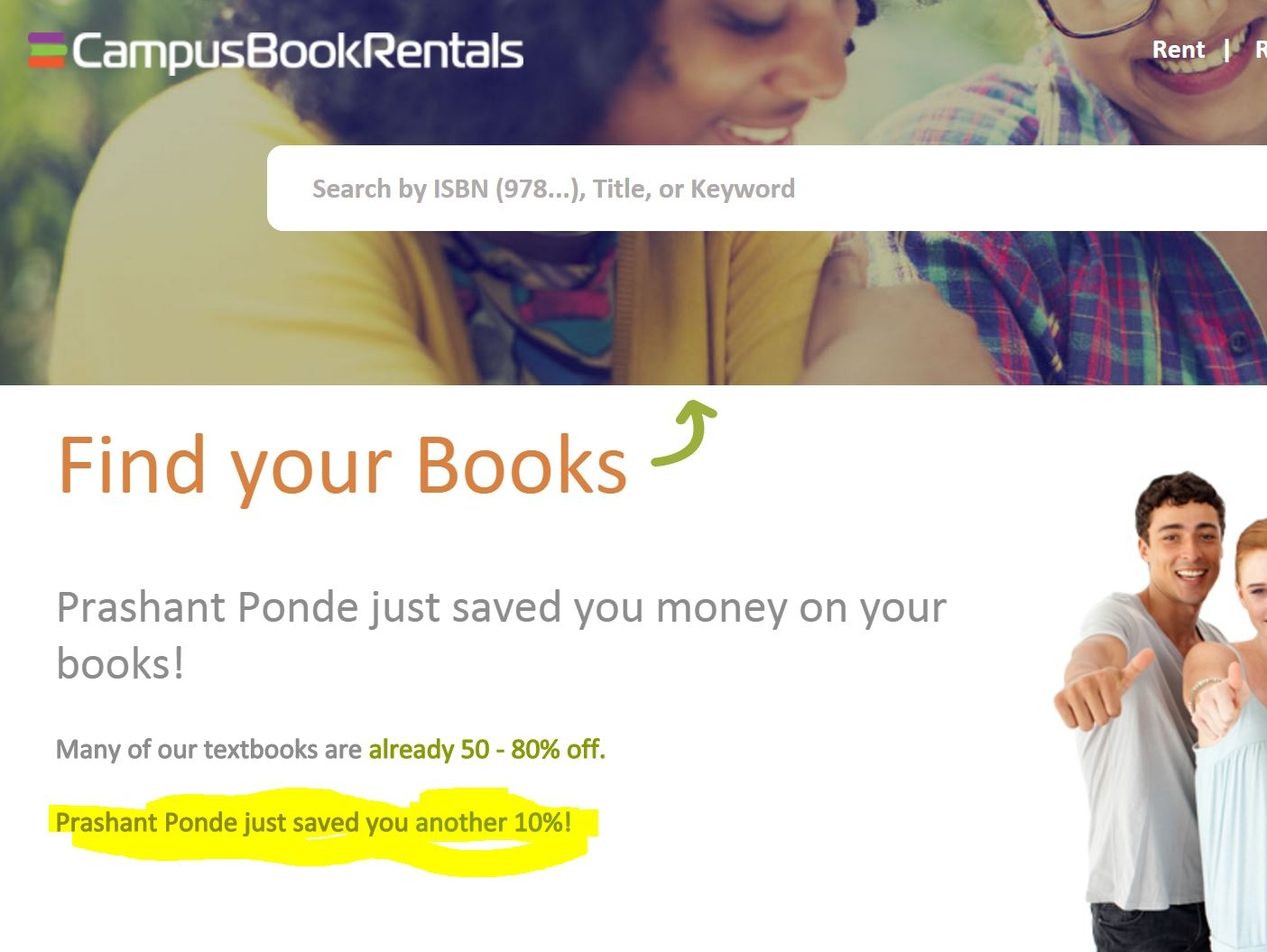 Book rentals coupon codes