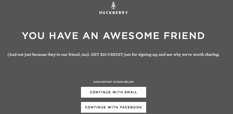 Huckberry coupon code