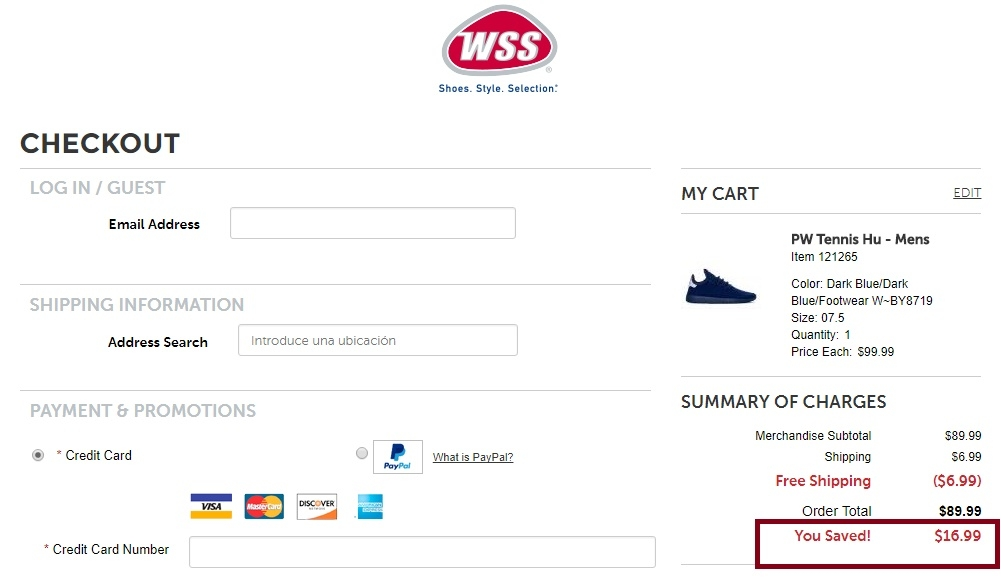 Wss coupon code