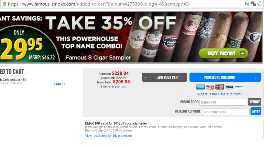 Famous smoke shop coupon code
