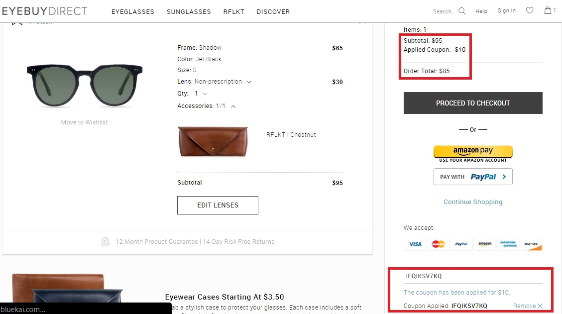 Discounts average $15 off with a EyeBuyDirect promo code or coupon. 50 EyeBuyDirect coupons now on RetailMeNot.