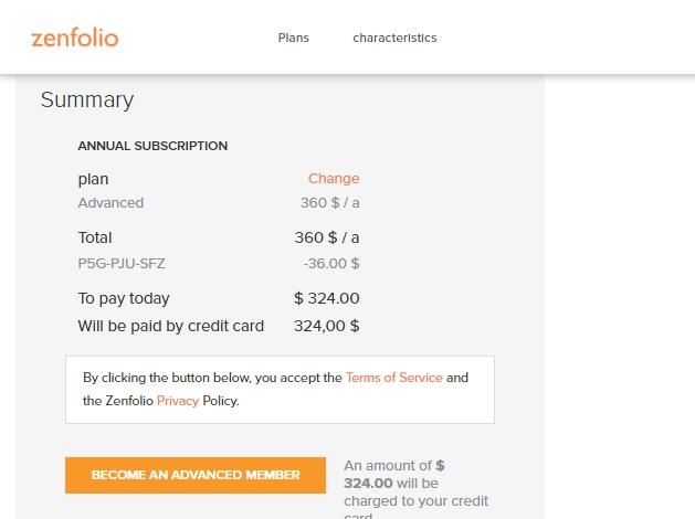 Zenfolio coupon code