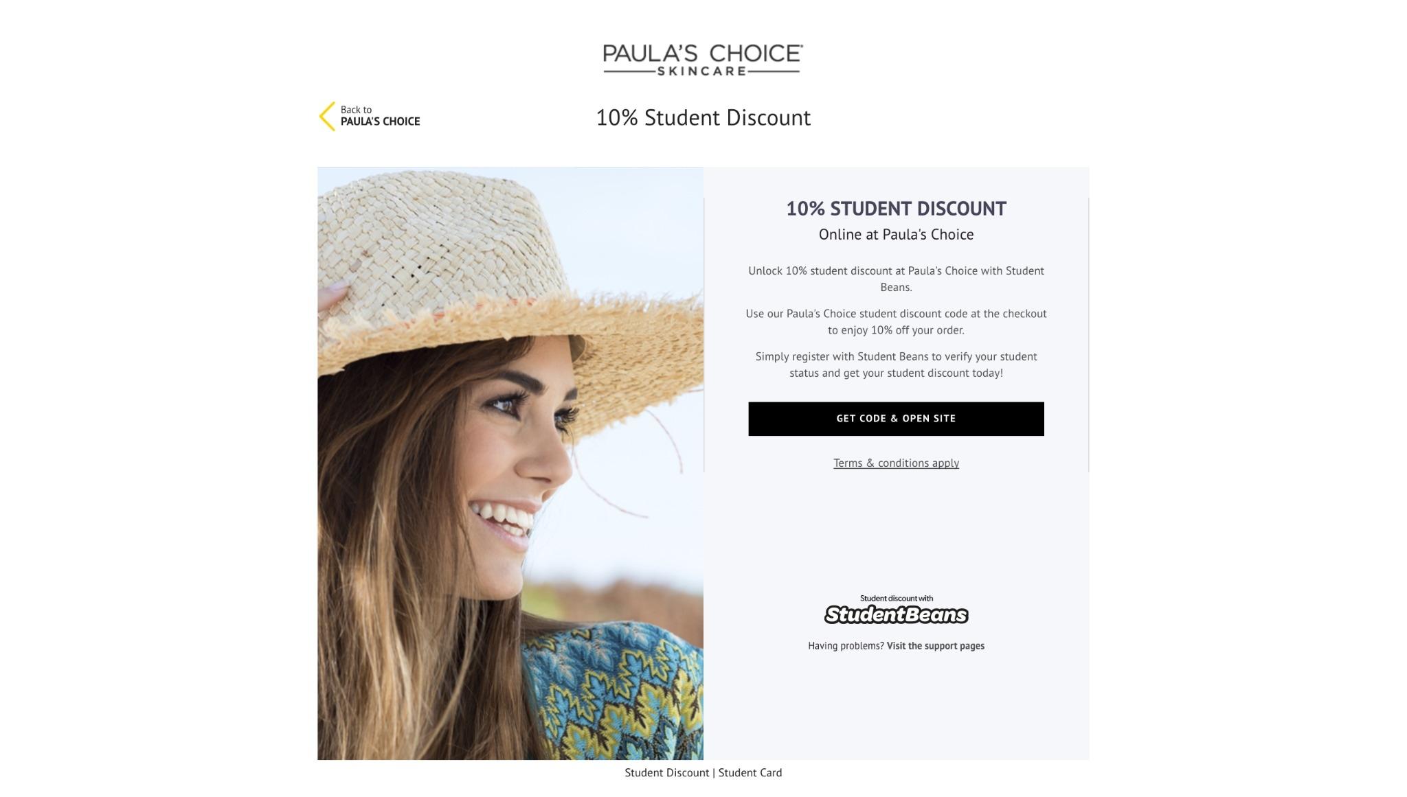 Paula's choice eu coupon code