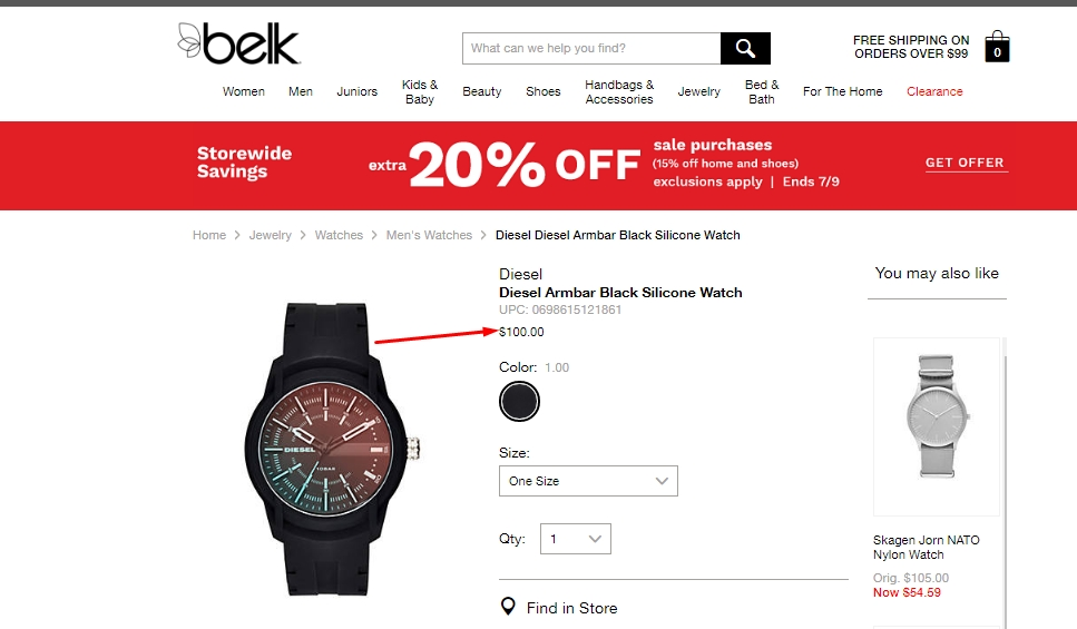 Belk coupon code 2019
