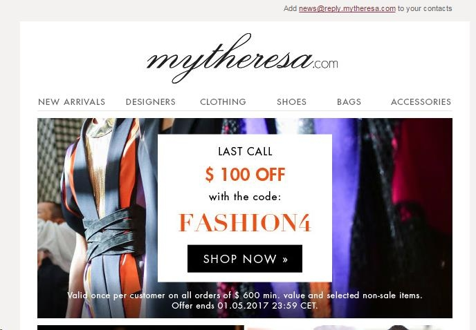Mytheresa coupon code