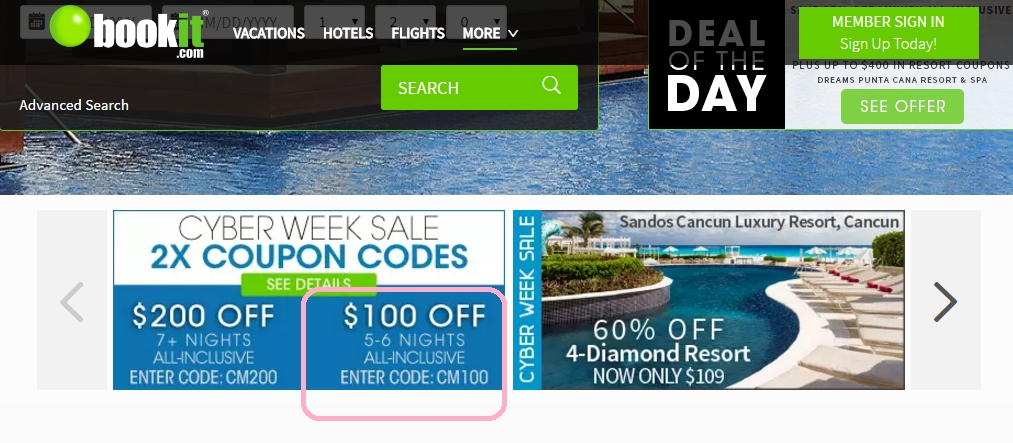 One of the ways BookIt is able to provide vacations, hotels, flights, and more at such a great price is by staying exclusively online. If you want some extra discounts, you can use a BookIt coupon on the website for even more savings!5/5(15).