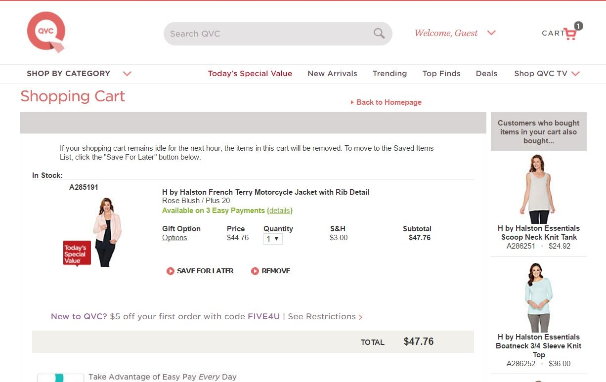 Qvc discount coupons